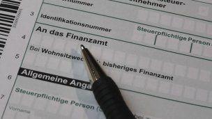Formular Einkommenssteuer