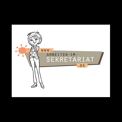 logo arbeiten im sekretariat