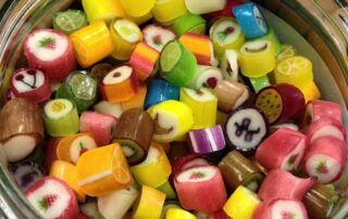 Süßigkeiten Auswahl