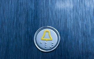 Aufzugknopf