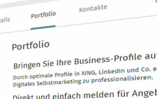 artikelbild xing portfolio