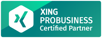 xing probusiness partner badge